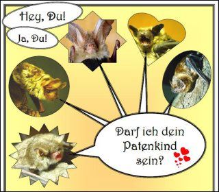 Das Bild ist eine Collage verschiedener Fledermausprofile als Dank an unsere Fledermauspaten // The picture is a collage of different bat profils as a thank to our bat godparents